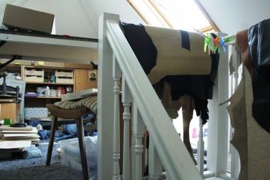loft studio entry
