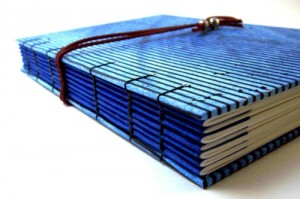 blank coptic bound journal