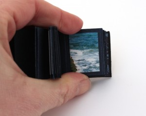 miniature photo book