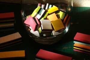 miniature note blocks