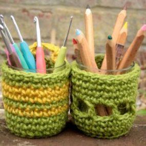 crochet pots klein