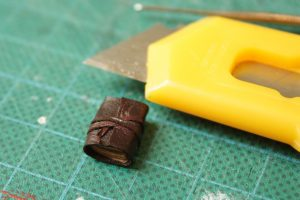 Limp Leather Binding Miniature