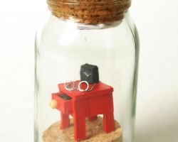 "message in a bottle no. 77 ""Small World - The Nightstand"""