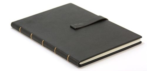 classic blank book with magnetic closure